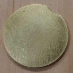 Replacement brass disc